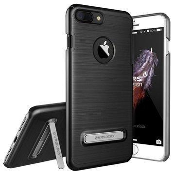 iPhone 7 Plus VRS Design Simpli Lite Suojakuori Musta Titaani