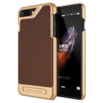 """iPhone 7 Plus VRS Design Simpli Mod suojakuori â"""" Ruskea"""