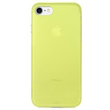 iPhone 7 Puro 0.3 Ultra Slim Silikonikotelo Limenvihreä