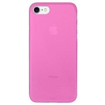 iPhone 7 Puro 0.3 Ultra Slim Silikonikotelo Pinkki