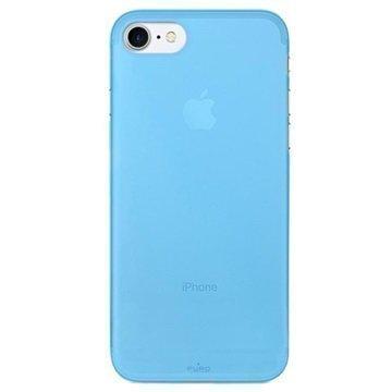 iPhone 7 Puro 0.3 Ultra Slim Silikonikotelo Sininen
