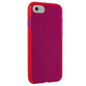 iPhone 7 Puro Impact Pro Flex Shield Suojakuori Punainen