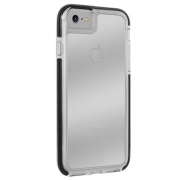 iPhone 7 Puro Impact Pro Hard Shield Suojakuori Musta