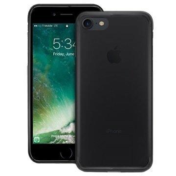 iPhone 7 Puro Plasma Kotelo Läpinäkyvä Harmaa