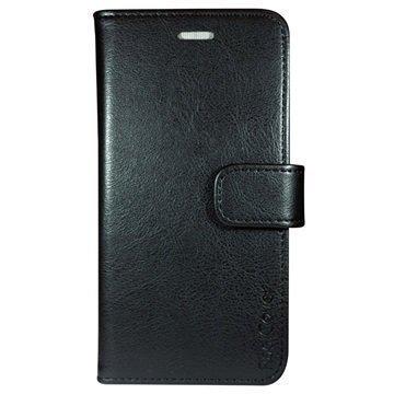 iPhone 7 RadiCover Anti-säteily Lompakkokotelo Musta