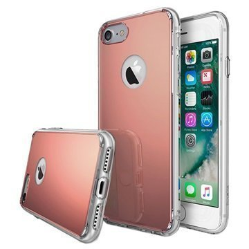 iPhone 7 Ringke Mirror Case Rose Gold