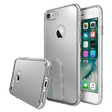 iPhone 7 Ringke Mirror Case Silver
