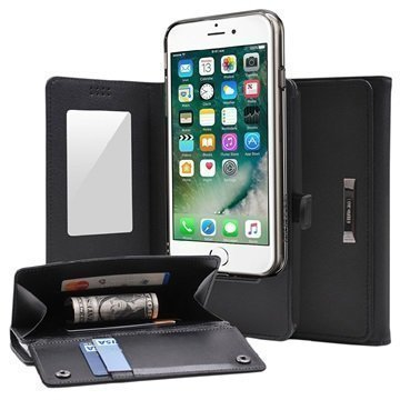 iPhone 7 Ringke Wallet Case Black