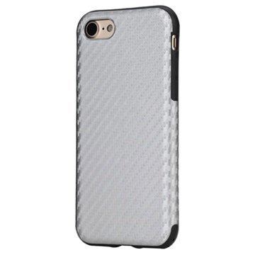 iPhone 7 Rock Kannellinen Suojakotelo Hopea