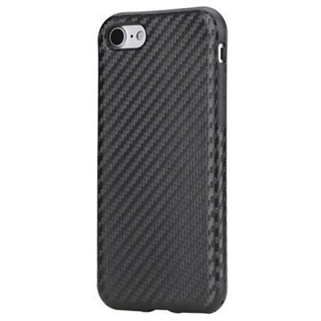 iPhone 7 Rock Kannellinen Suojakotelo Musta