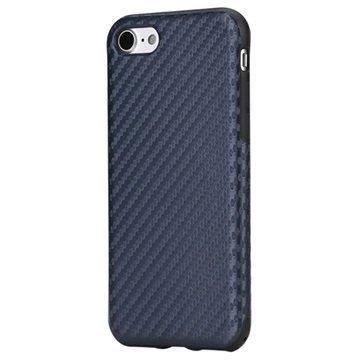 iPhone 7 Rock Kannellinen Suojakotelo Sininen