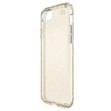 iPhone 7 Speck Presidio Clear Glitter Suojakuori Kulta