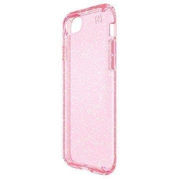 iPhone 7 Speck Presidio Clear Glitter Suojakuori Pinkki
