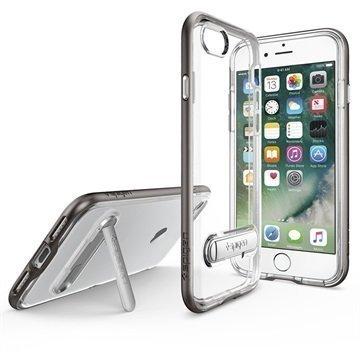 iPhone 7 Spigen Crystal Hybrid Suojakuori Asemetalli
