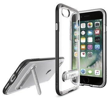 iPhone 7 Spigen Crystal Hybrid Suojakuori Musta