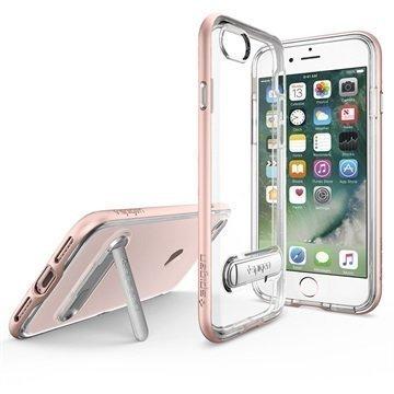 iPhone 7 Spigen Crystal Hybrid Suojakuori Ruusukulta