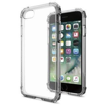 iPhone 7 Spigen Crystal Shell Suojakuori Musta Kristalli