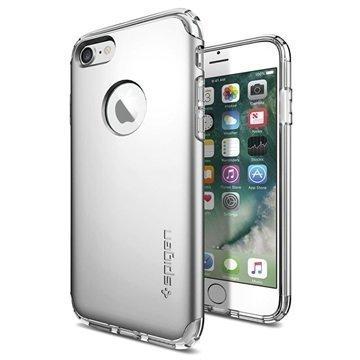 iPhone 7 Spigen Hybrid Armor Suojakuori Hopea