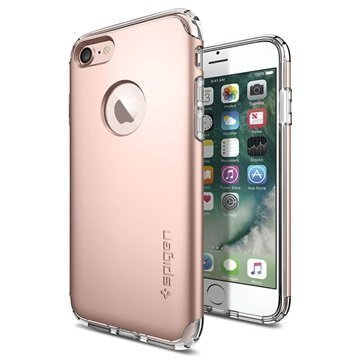 iPhone 7 Spigen Hybrid Armor Suojakuori Ruusukulta