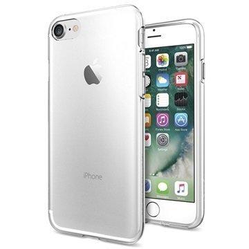 """iPhone 7 Spigen Liquid Crystal TPU Suojakuori â"""" Kirkas"""
