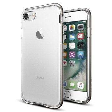 iPhone 7 Spigen Neo Hybrid Crystal Suojakuori Asemetalli