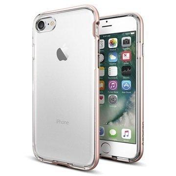 iPhone 7 Spigen Neo Hybrid Crystal Suojakuori Ruusukulta