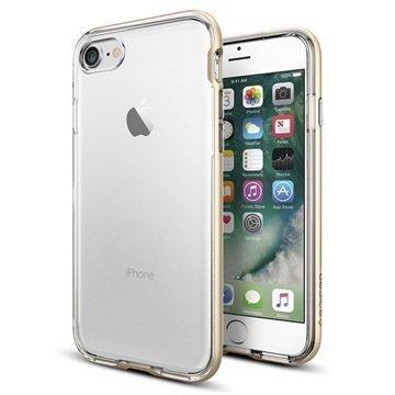 iPhone 7 Spigen Neo Hybrid Crystal Suojakuori Samppanjakulta