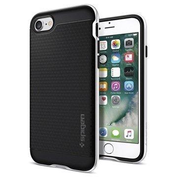 iPhone 7 Spigen Neo Hybridi Suojakuori Hopea