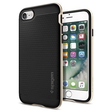 iPhone 7 Spigen Neo Hybridi Suojakuori Samppanja Kulta