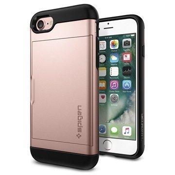 iPhone 7 Spigen Slim Armor CS Suojakotelo Ruusukulta