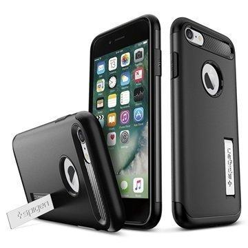 iPhone 7 Spigen Slim Armor Suojakuori Musta