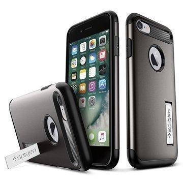 iPhone 7 Spigen Slim Armor Suojakuori Plomizo
