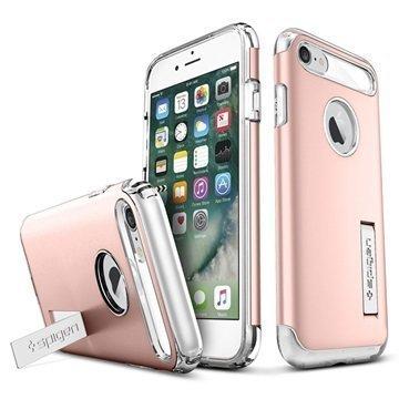 iPhone 7 Spigen Slim Armor Suojakuori Ruusukulta