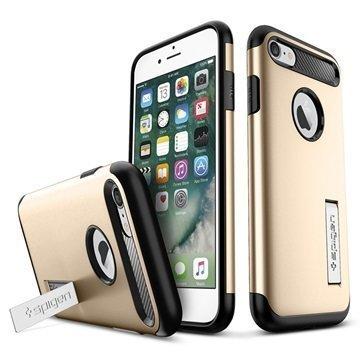 iPhone 7 Spigen Slim Armor Suojakuori Samppanjakulta
