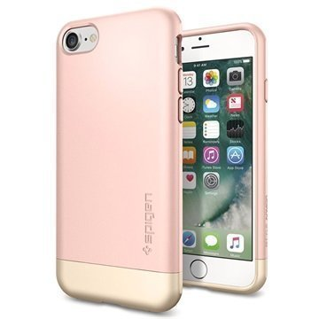 iPhone 7 Spigen Style Armor Kotelo Ruusukulta