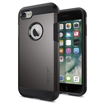iPhone 7 Spigen Tough Armor Kotelo Asemetalli