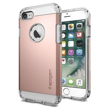 iPhone 7 Spigen Tough Armor Kotelo Ruusukulta