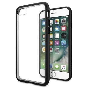 iPhone 7 Spigen Ultra Hybrid Suojakuori Musta