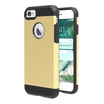 iPhone 7 Tuff-Luv Slim Armour 2-kerroksinen TPU suojakuori Kulta