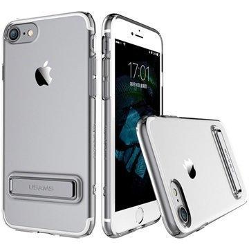 iPhone 7 Usams Bright TPU Kuori Harmaa