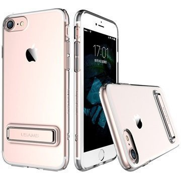 iPhone 7 Usams Bright TPU Kuori Ruusukulta