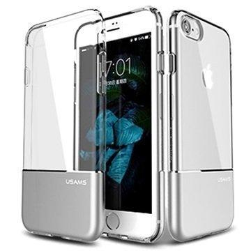 iPhone 7 Usams Easy TPU Suojakuori Hopea