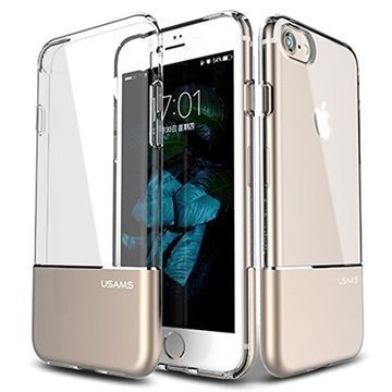 iPhone 7 Usams Easy TPU Suojakuori Kulta