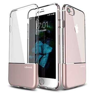 iPhone 7 Usams Easy TPU Suojakuori Ruusukulta