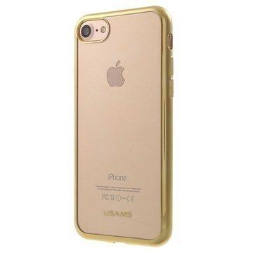 iPhone 7 Usams Kim TPU Suojakuori Kulta