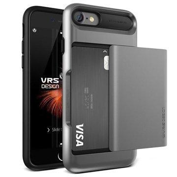 iPhone 7 VRS Design Damda Glide Case Steel Silver