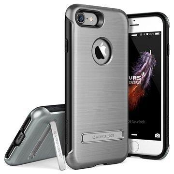 iPhone 7 VRS Design Duo Guard suojakuori Steel Silver