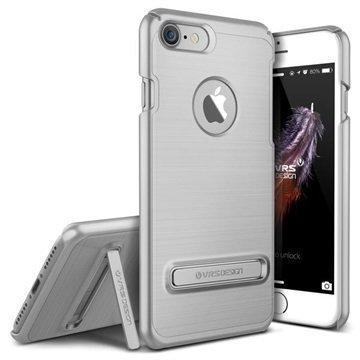 iPhone 7 VRS Design Simpli Lite suojakuori Hopea