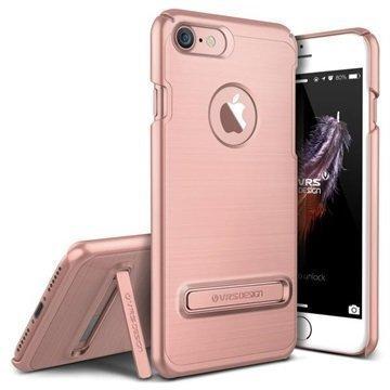 iPhone 7 VRS Design Simpli Lite suojakuori Ruusukulta