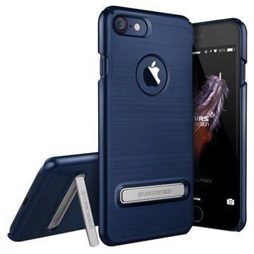 iPhone 7 VRS Design Simpli Lite suojakuori Tummansininen
